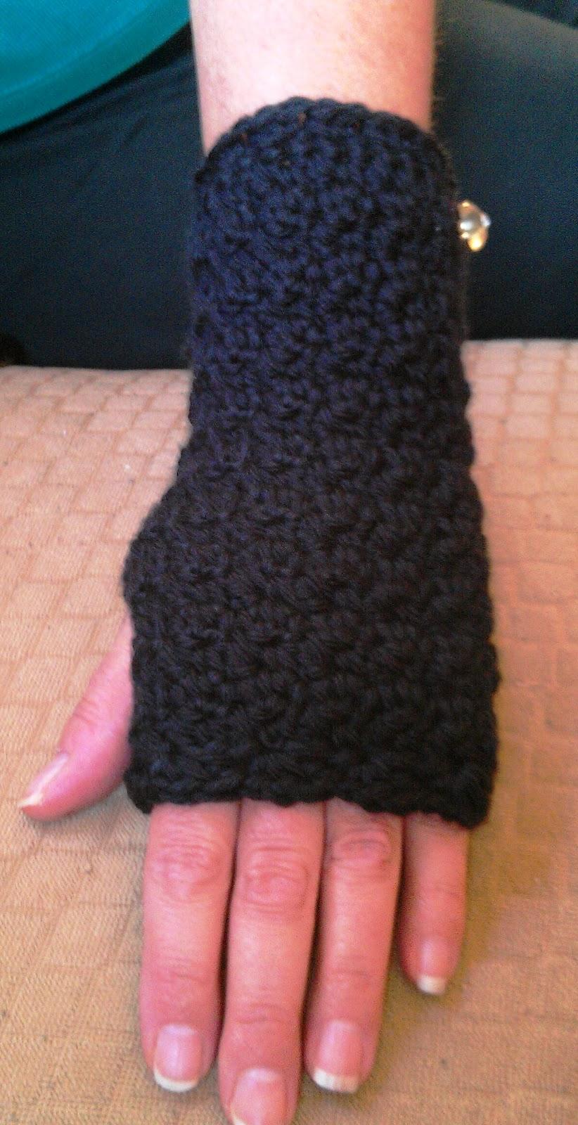 New Crochet Handwrist Warmers Pattern Cute Crochet Chat